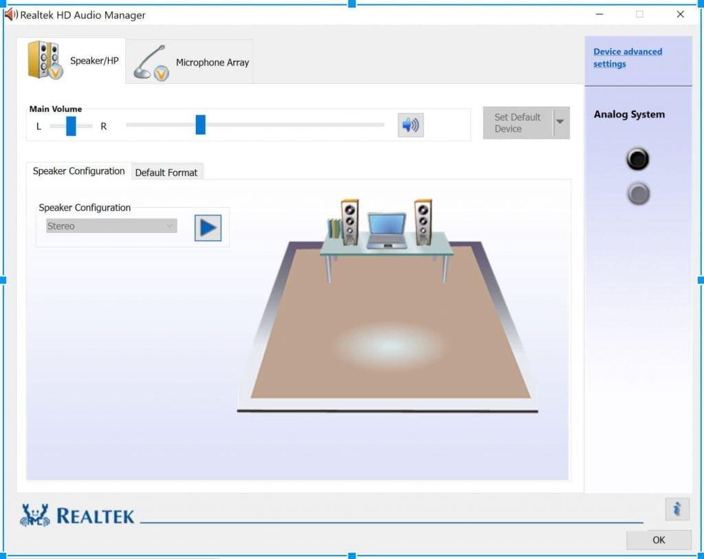 realtek high definition audio Treiber