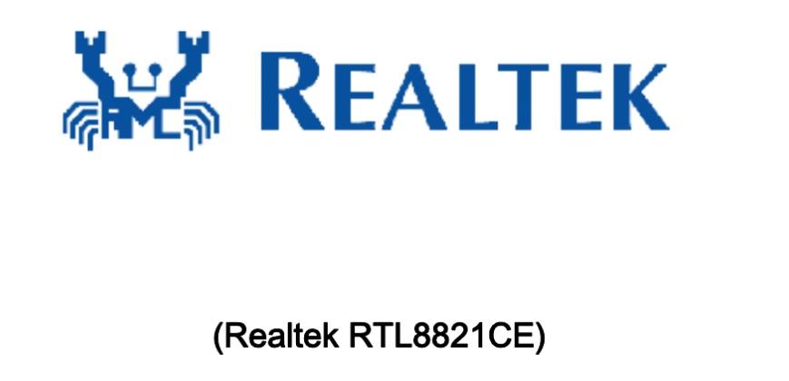 realtek rtl8821ce driver